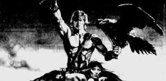 The Beastmaster newspaper ads