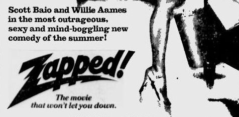 Zapped! newspaper ad