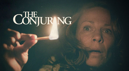 Want to win a copy of The Conjuring on Blu-Ray/DVD?  Sure you do…