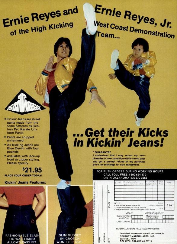Ernie Reyes Jr Kickin Jeans 2