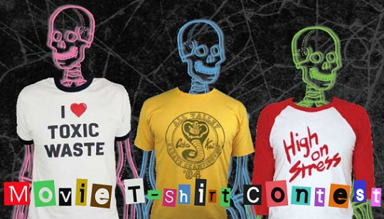 Top 15 Cult Film T-Shirts and a Contest!