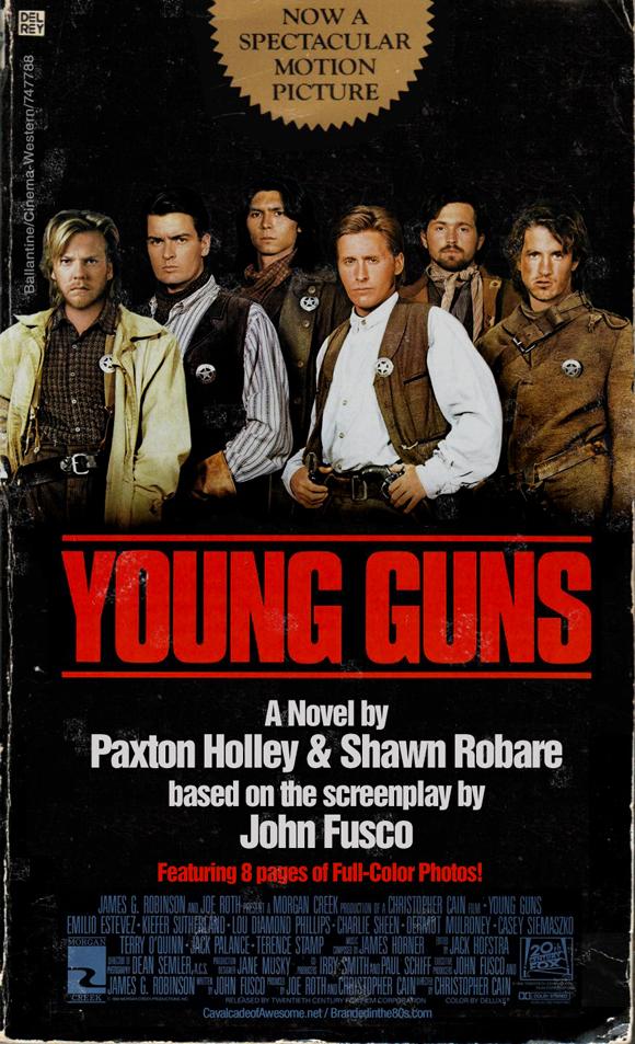 Young Guns Novelization CFC Size