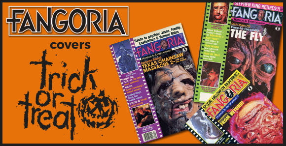 Fangoria Covers Trick or Treat