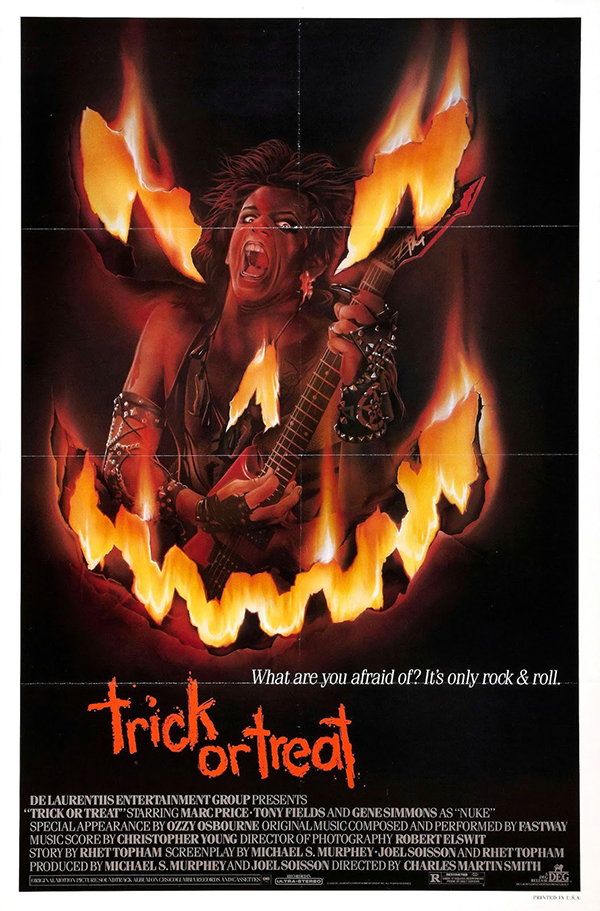 TRICK OR TREAT (1986) poster 1
